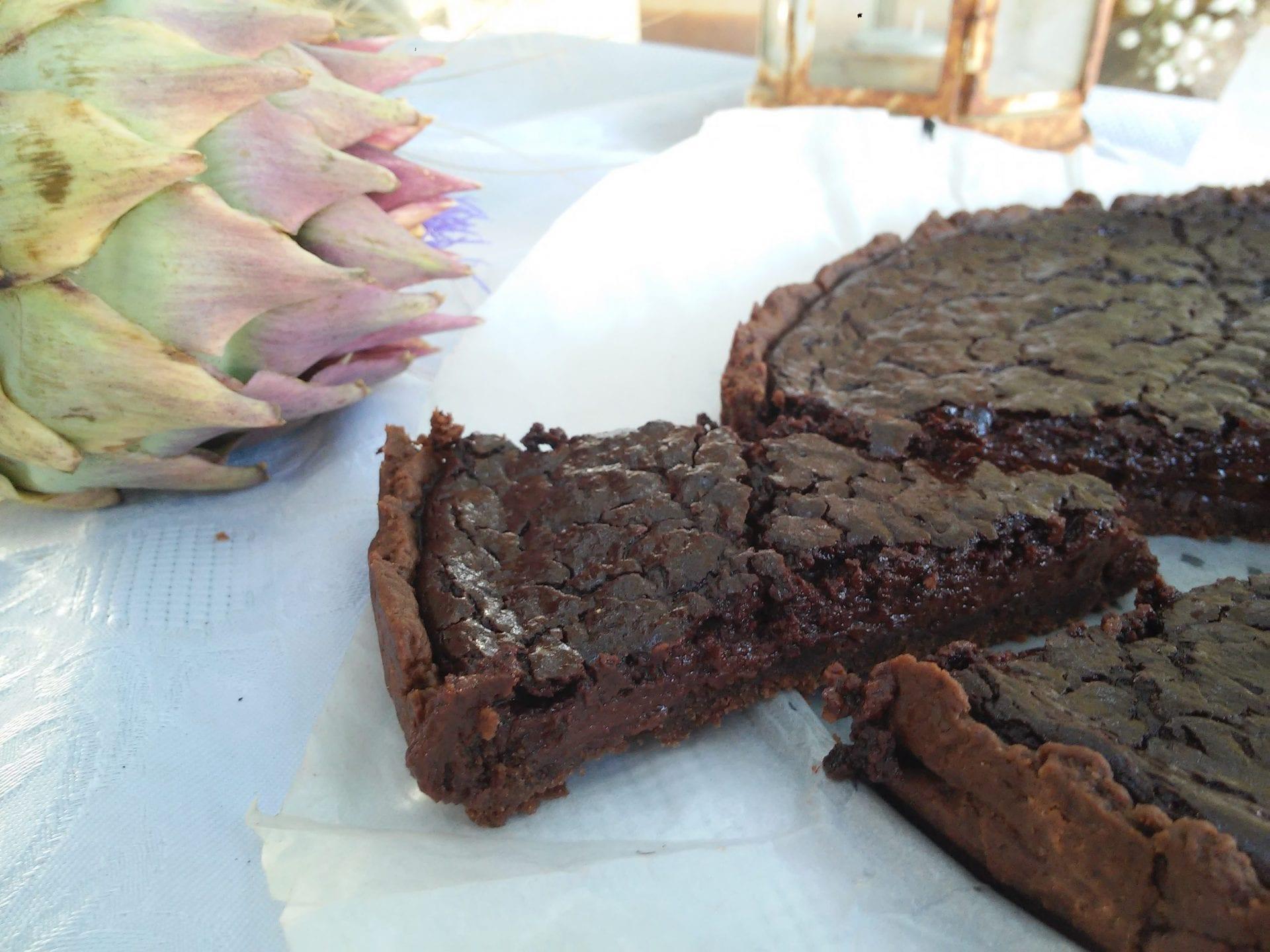 פאי שוקולד פקאן טבעוני שוקולדי במיוחד שתתעלפו ממנו