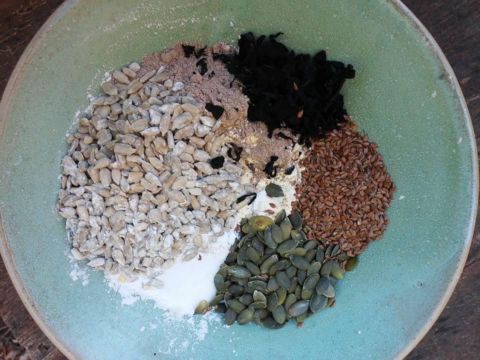 קרקרים טבעוניים ללא גלוטן מקמח טף