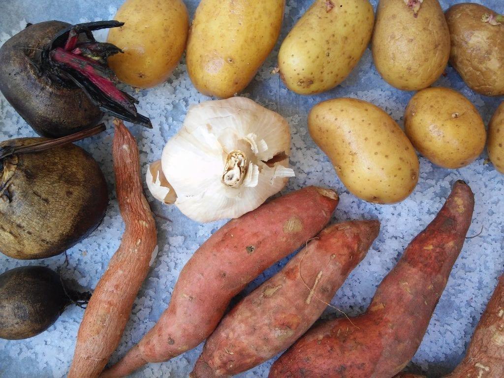 ירקות מדורה בתנור בקלי קלות