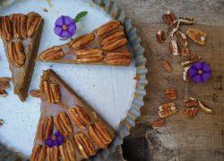 פאי פקאן טבעוני מדהים ללא גלוטן וללא סוכר