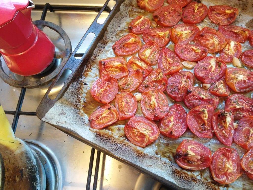 רוטב עגבניות צלויות