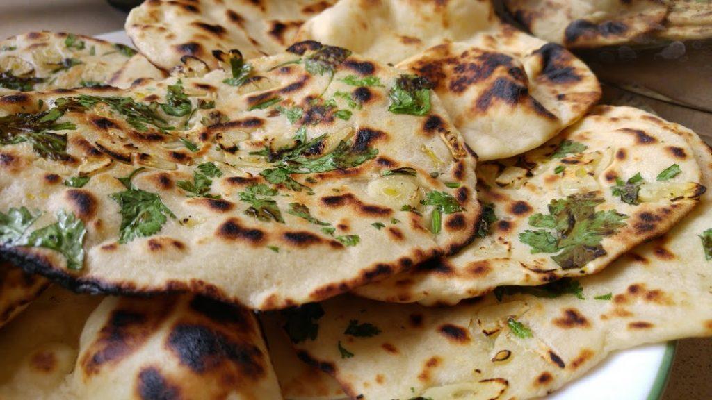 נאן לחם הודי שטוח