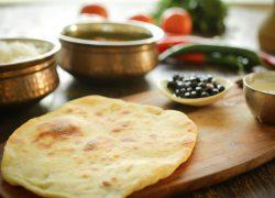 נאן – לחם הודי שטוח שאופים על מחבת – מרתון פסטיבל האוכל